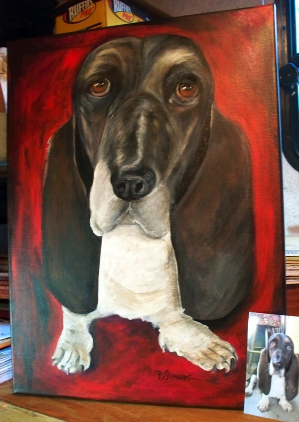 Large Pet Portrait All Ears