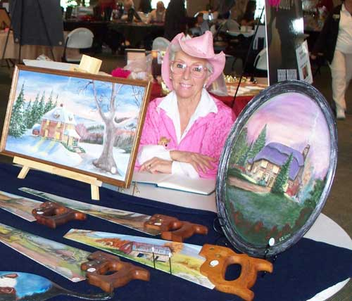 Penny Stewart, Tole and Decorative Painter
